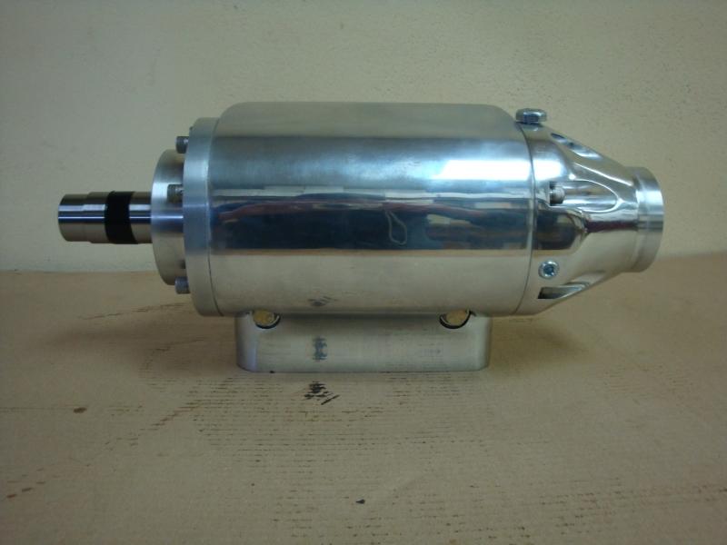 Vanquish V8 Custom Machining