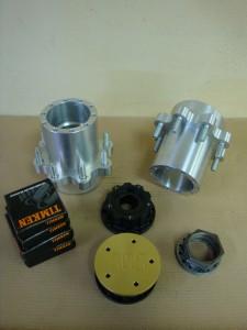 8 Lug F106 Hubs and Drive Plates