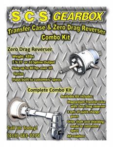 4x4 Transfer Case & Zero Drag Reverser