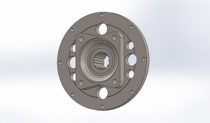 Monster Truck F-106 brake rotor Flange 2