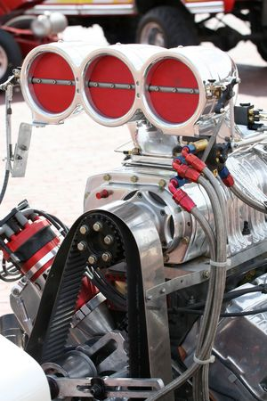 Tractor Pull Engine