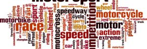 Motorsports Word Cloud