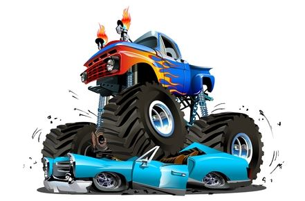 Clip Art Monster Truck