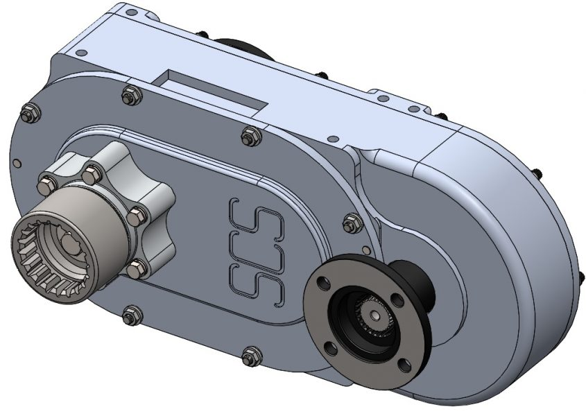 Transfer Case Overview Illistration