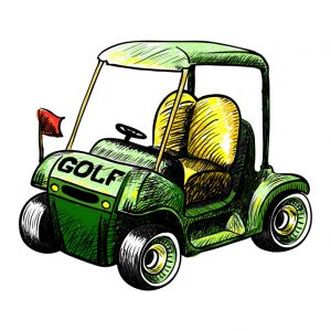 Modified Golf Cart