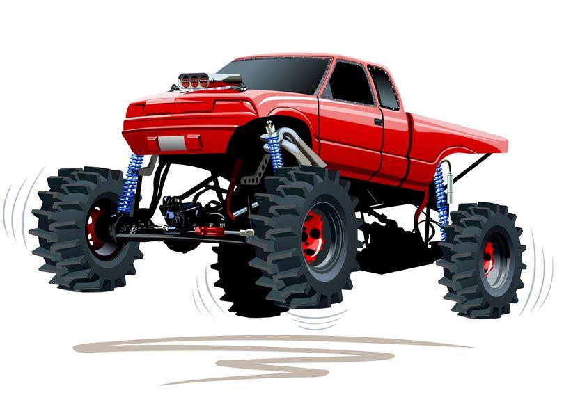 Monster truck transfer cases